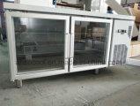 Glaskarosserie des tür-Küche-Kostenzähler-Kühlraum-SUS304 und Embraco Kompressor
