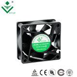 Hochtemperatur 60mm lärmarmer 12V 24V schwanzloser Gleichstrom-Ventilator für die LED-Lampe, die 60X60X25mm abkühlt