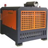 Прямое соединение подключенных стационарных дизельных винтовой компрессор с помощью домкрата молотка