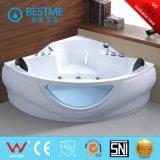 Forma de la esquina con Asiento de bañera de masaje (BT-322)