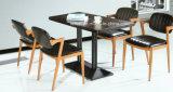 Tabella della mobilia di legno del MDF e presidenza accatastabili (LL-WST010)