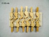خشبيّ [لدبيرد] أرنب نحلة [إستر] مشبك زخرفة