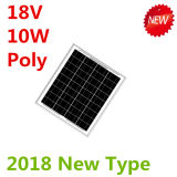 poli comitato della pila solare di 18V 10W (2018)
