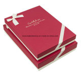Kleid-Papierverpackenkasten-/Pappbeschaffenheits-Geschenk-Kleid-verpackenkasten
