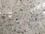 Marmeren Ader LF-V004/de Plak van het Kwarts voor Keuken/Badkamers/Muur/Vloer
