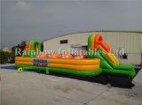Populärer Verkaufs-aufblasbarer Fußballplatz-/Inflatable-Spiel-/Inflatable-Hindernis-Kurs für Verkauf