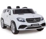 車のおもちゃの2つのシートの赤ん坊の乗車