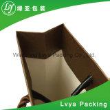 Sacs en papier d'emballage du pain de nourritures de tissu de logo d'impression Brown Papier d'emballage