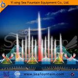 Музыкальный цветной свет фонтаном