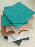 9mm Wand, Absorptions-Polyester-Faser-akustisches Panel