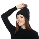 Шлем Beanie Knit шерстей классицистической оптовой продажи типа Unisex с POM Poms