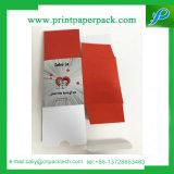 Коробка цветка подарка коробки картона упаковывая твердая
