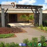 Decking composito di legno impermeabile della pavimentazione WPC di vendita calda per il rivestimento per pavimenti esterno