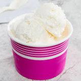 Helado de yogur/taza taza con logotipo impreso