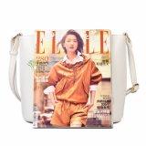 広州の工場デザイナー方法女性袋PUの革女性袋
