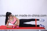 Extension de latex de bandes de boucle de résistance de bandes d'exercice résistante pour des séances d'entraînement domestiques inférieures de Pilates de corps inférieur de corps supérieur et de physiothérapie d'exercice de faisceau