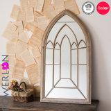 Im Freien und Innenmetall gestalteter Wand-Spiegel