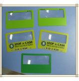 85*55mm 3X lupa de tamanho de cartão de crédito para empresas Lupa-803 Hardware Personalizado