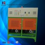 O PLC datilografa a unidade de controle da temperatura