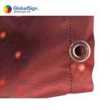Digital-Druck-im Freienbekanntmachenvinylineinander greifen-Fahne