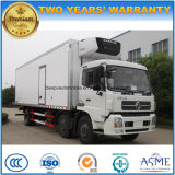 Camion resistente del camion refrigerato 25tons degli assi di Dongfeng 3
