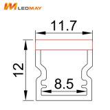 LED-Kanal-Spur-Aluminiumprofil für 8mm LED den Streifen