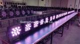 Vello exterior impermeable LED PAR puede etapa luminoso (LED de radar de la Tierra 12).
