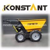 Descarregador hidráulico psto gasolina Kt-MD300CH da segadora mini