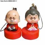 Fashion mignon Granpa Granma poupée de jouets en PVC