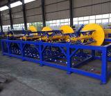 Conducto de aire HVAC de plaza de la línea de fabricación automática para la fabricación de tubos