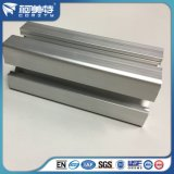 6063 природных анодированный Серебристый алюминиевый профиль для сборочной линии
