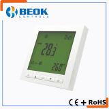 Термостат комнаты AC кондиционирования воздуха ежедневного термостата Fcu катушки вентилятора отметчика времени франтовской центральный