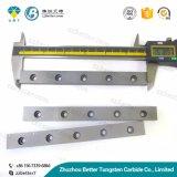 K10 Karbid Rod und Streifen-Hartmetall-Streifen mit Loch-haltbaren flachen harten Metallstreifen