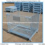 Stahlmaschendraht-Behälter mit Stahlplatten-Unterseite