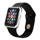 De beste Verkopende RubberBand van het Horloge van het Silicone van de Manchet Zachte voor Iwatch
