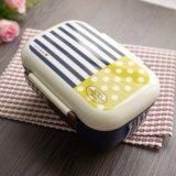 Doos van de Lunch Bento van de Container van het voedsel de Plastic met Eetstokjes 20102