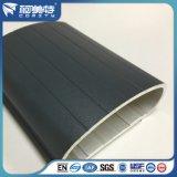 OEM大きい次元の灰色の粉のコーティングアルミニウム手柵のプロフィール