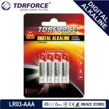 Pile alcaline libre de Digitals d'usine de Mercury&Cadmium Chine (LR20/D size/AM-1)