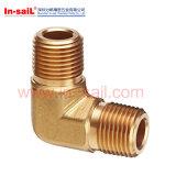 ガス弁の空気弁のための予備品を機械で造る黄銅CNC