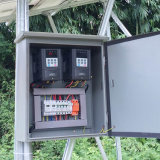 SAJ 4KW 3 Fase 3 Fase de entrada y salida IP 65 controlador de la bomba solar para el sistema de riego de bombeo Solar