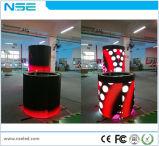 Runde Spalte-flexibler weicher Kurve LED-Bildschirm