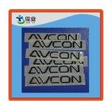 Etiqueta adhesiva del metal de encargo de la alta calidad