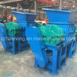 Vollautomatische Plastikzerquetschenmaschine, beweglicher doppelter Welle-Reißwolf, Abfall bereiten Station auf