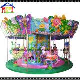 12p het Vermaak Vrolijke Kiddie van de Carrousel van het Paard van de engel gaat om Rit