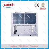 Refroidisseur d'eau refroidi par air avec le compresseur de vis et la pompe à chaleur