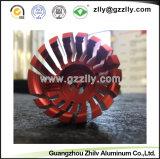 LEDライトのための多彩な陽極酸化されたアルミニウム脱熱器