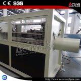 Plastik-Belüftung-einzelne Wand-gewölbtes Rohr, das Maschinen-Strangpresßling-Zeile bildet