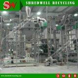 Sucata automática/planta de recicl Waste do pneu produzindo o pó de borracha 30-120mesh