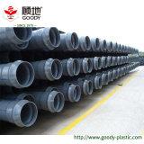 Tubo respetuoso del medio ambiente del abastecimiento de agua de la marca de fábrica Pn2.0 Dn20 UPVC de la chuchería