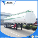 炭素鋼の液体のディーゼル石油貯蔵タンク輸送の引っ張り棒のタンク車トレーラー50000リットルの半燃料タンクの